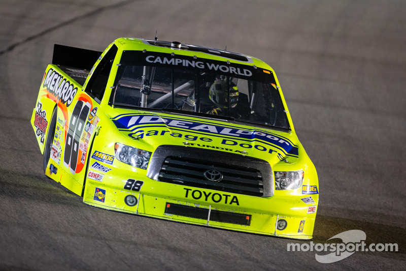 Matt Crafton gets Martinsville victory in 'overtime'