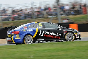 Challenging BTCC opener for Wood and Houseman Racing