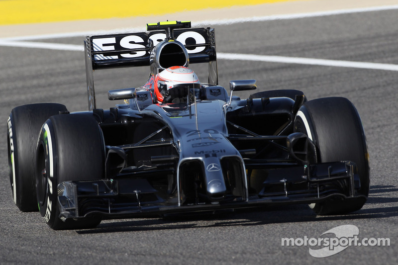 Bahrain testing day one - McLaren Mercedes