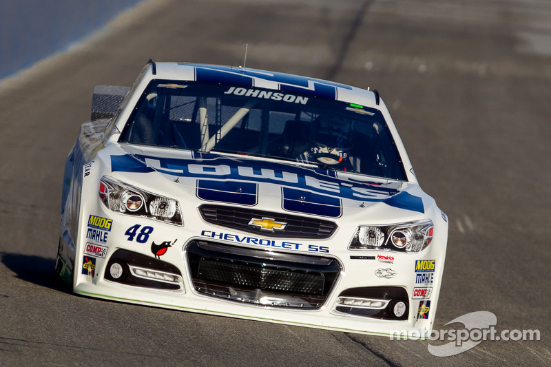 Is Jimmie Johnson already in the danger zone?