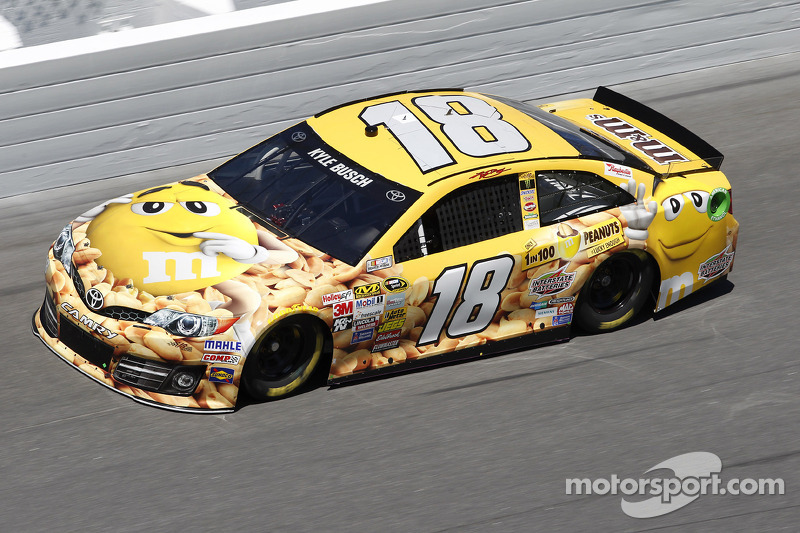 Kyle Busch wants a happy birthday at Talladega