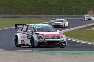 WTCC Race report Citroën goes 1-2 in Race 1 at the Hungaroring - Muller wins