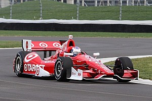 Dixon and Pagenaud lead way as practice starts for Grand Prix of Indianapolis