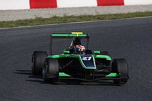 GP3 Practice report Stanaway sets the pace in Barcelona free practice