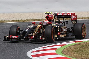 Lotus progresses with Grosjean qualifying in fifth for the Spanish GP