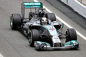 Barcelona test - Day 1 - Mercedes AMG Petronas