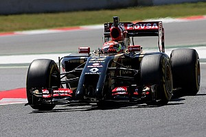 Maldonado and Lotus quickest on second day of Barcelona test