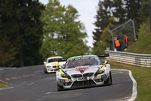 Podium for Marc VDS at VLN4