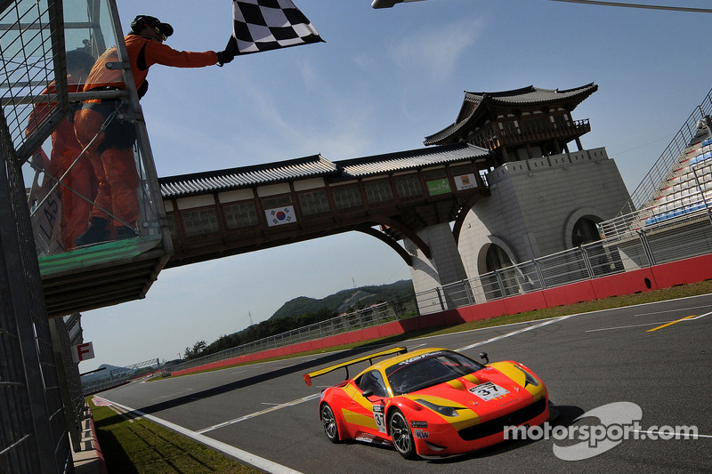 Surprise victors in opening round of GT Asia in Korea