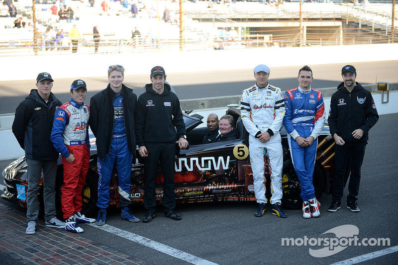 Sam Schmidt drives again