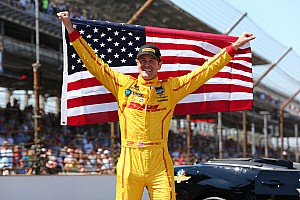 IndyCar Race report Ryan Hunter-Reay wins a thrilling Indianapolis 500