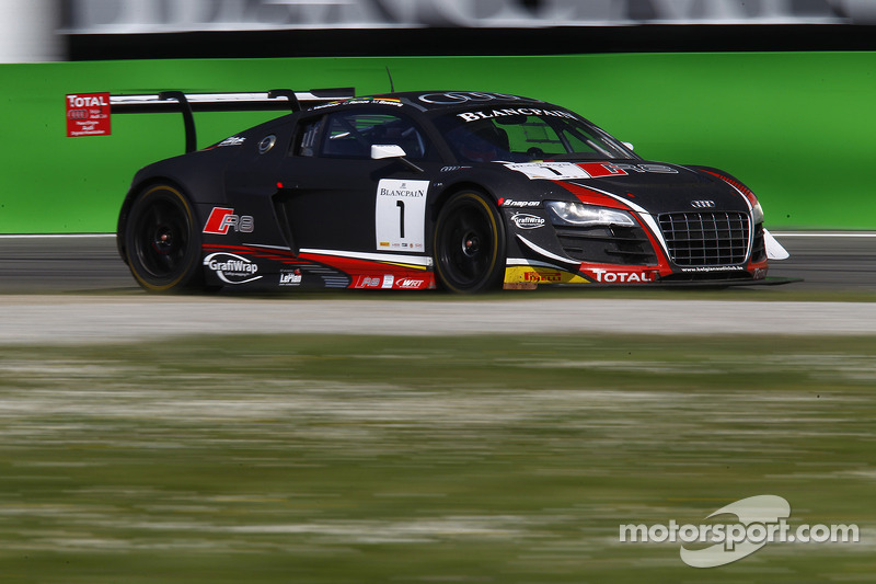 Magnificent podium for Vanthoor at Silverstone