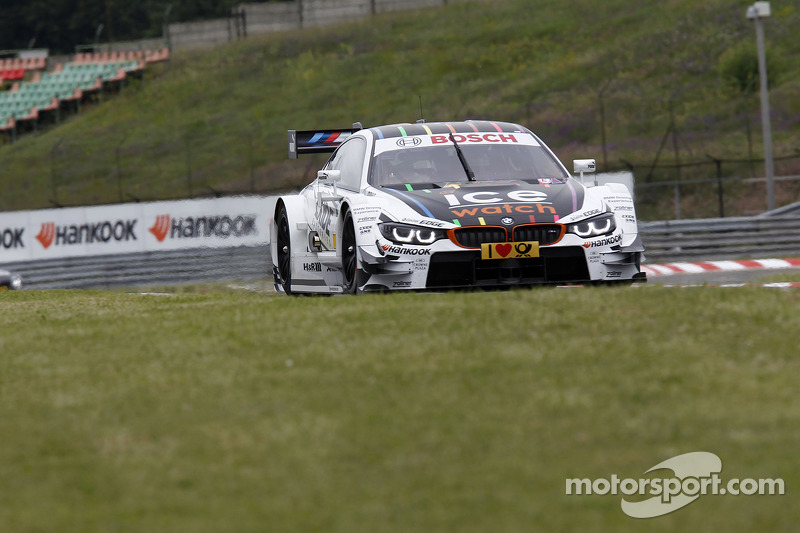 Wittmann and Glock on the front row at the Hungaroring
