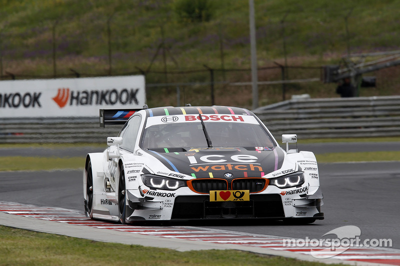 Marco Wittmann earns victory in Hungary