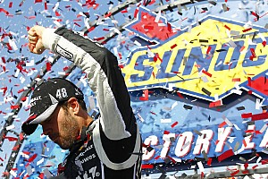 NASCAR Sprint Cup Race report Johnson goes back-to-back with dominating victory at Dover
