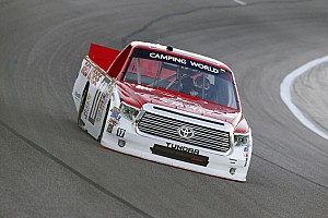 NASCAR Truck Interview Timothy Peters looking to keep momentum going in Texas