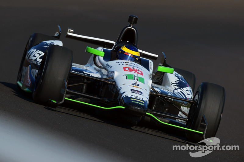 Racing incident ends strong drive by Sebastien Bourdais in Firestone 600