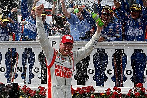 Earnhardt seizes the moment at Pocono