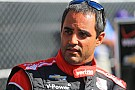 Montoya's back in NASCAR, but this time he's just visiting