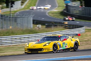 Second and fourth in qualifying at Le Mans for Corvette Racing