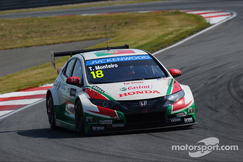 Monteiro heading to one of his favorite tracks