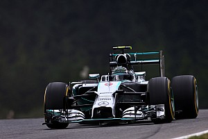 Mercedes' Hamilton set the best time of the day on the Red Bull Ring