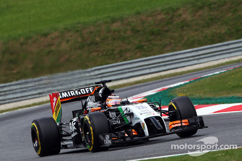 Austrian GP: Sahara Force India's Hulkenberg qualify inside the top
