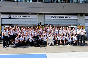 Williams Martini gets set for British GP