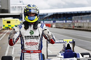 GP3 Race report Eriksson holds off Lynn for first win in Silverstone