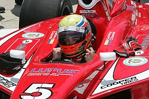 Indy Lights Race report Gabby Chaves victorious in Indy Lights race at Pocono