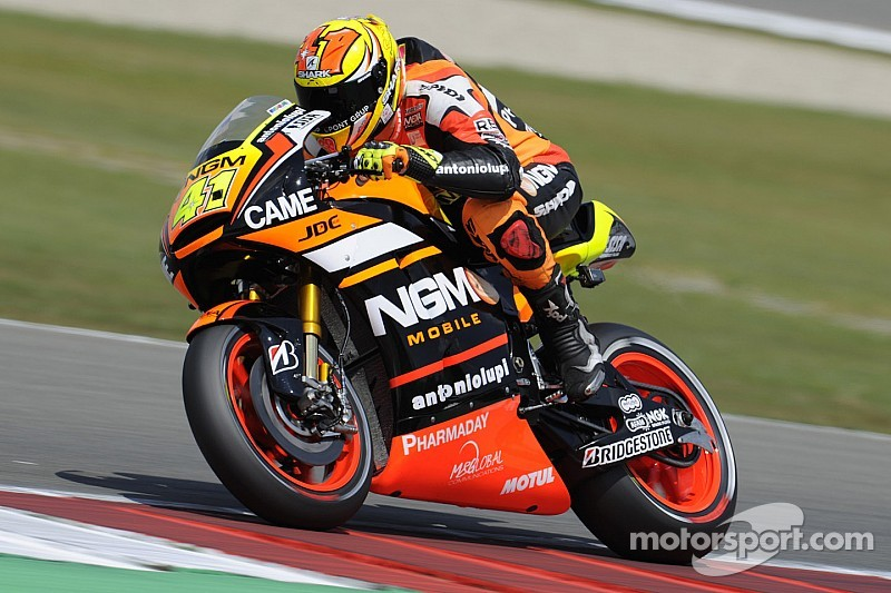 Bridgestone: Aleix Espargaro tops tightly-packed field in Sachsenring Friday practice