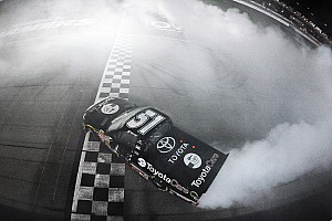 NASCAR Truck Race report Erik Jones posts first truck win at Iowa Speedway