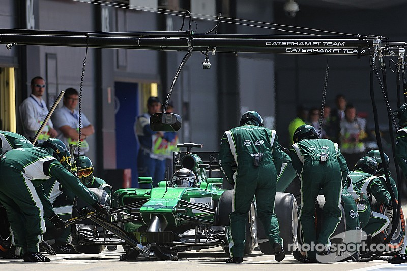 Caterham axes 'at least 50' F1 staff