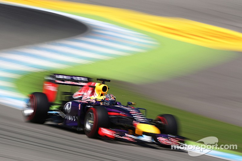Hockenheim: Red Bull have a good practice day without the FRIC suspension