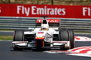 GP2 Race report Pic keeps cool in Budapest scorcher