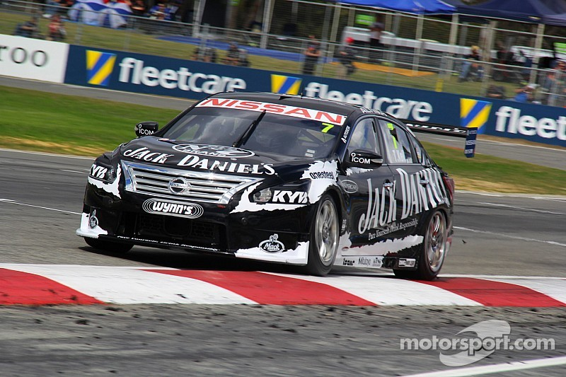 Friday test and tune for Jack Daniel's Racing at Queensland