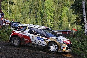 WRC Stage report Kris Meeke gathers speed in Finland