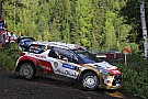 Kris Meeke gathers speed in Finland