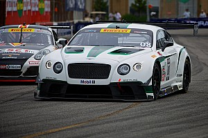 Rain dampens Bentley and Leitzinger at Mid-Ohio