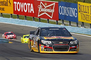 NASCAR Sprint Cup Race report Smith soldiers on under difficult circumstances