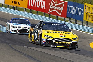 NASCAR Sprint Cup Breaking news Ambrose's Chase hopes slipping away with Watkins Glen defeat