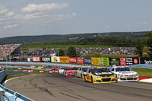 NASCAR Sprint Cup Breaking news TV ratings for Watkins Glen highest they've been in four years