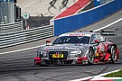 Five Audi RS 5 DTM cars in the top six
