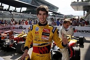 F3 Europe Race report Antonio Giovinazzi wins from Tom Blomqvist