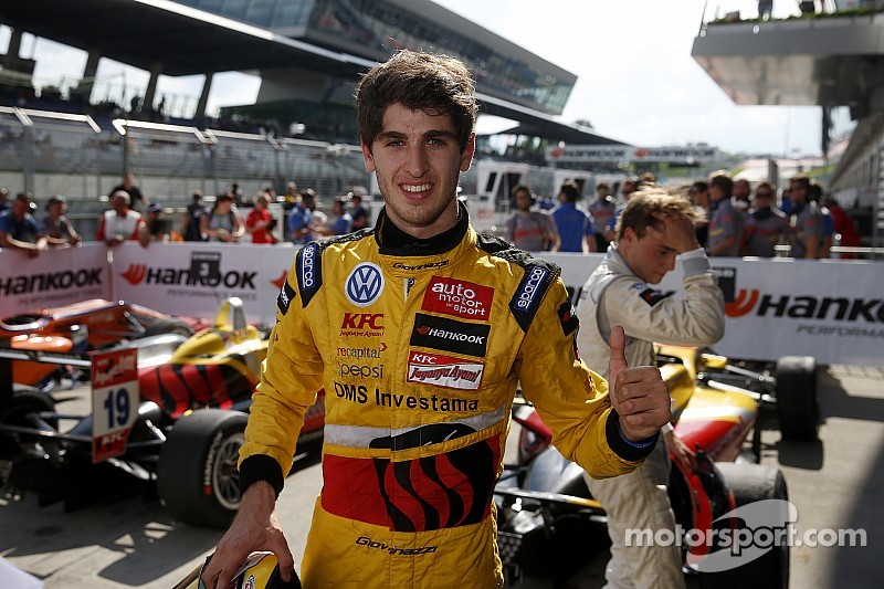 Antonio Giovinazzi wins from Tom Blomqvist