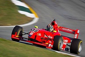 A new winner in Pro Mazda as the championship lead changes hands