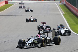 Both McLarens featured prominently in an action-packed Belgian GP