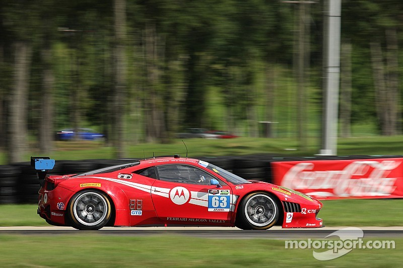 Balzan, Westphal score a second-place finish at VIR