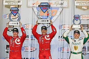 IndyCar Race report Fontana results and  post-race quote sheet