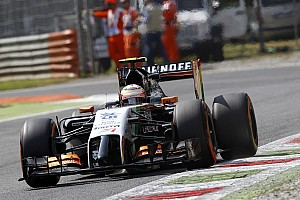 Perez secure tenth place on the grid for tomorrow's Italian GP
